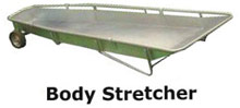 Body removal stretcher